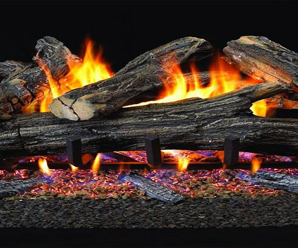 An Edge Gas Fireplace As An Effective Heater